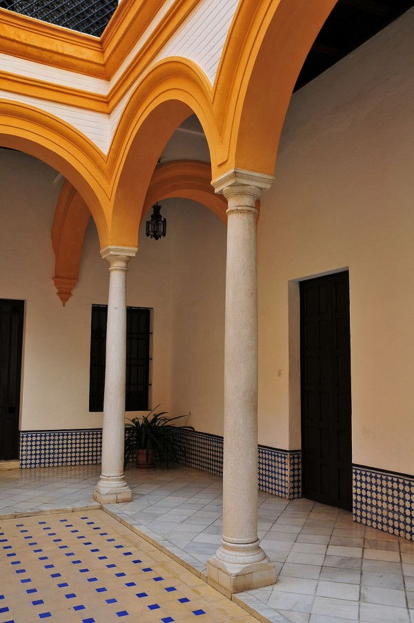 patio Real Alcazar Séville
