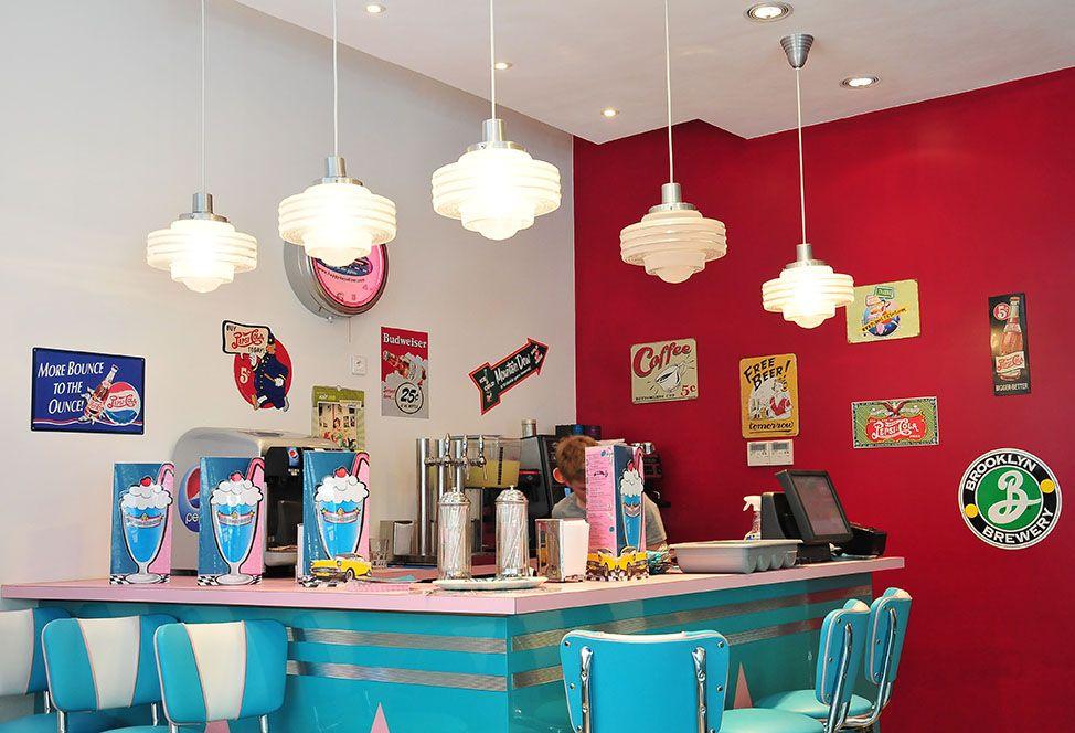 HD Diner Rivoli décoration
