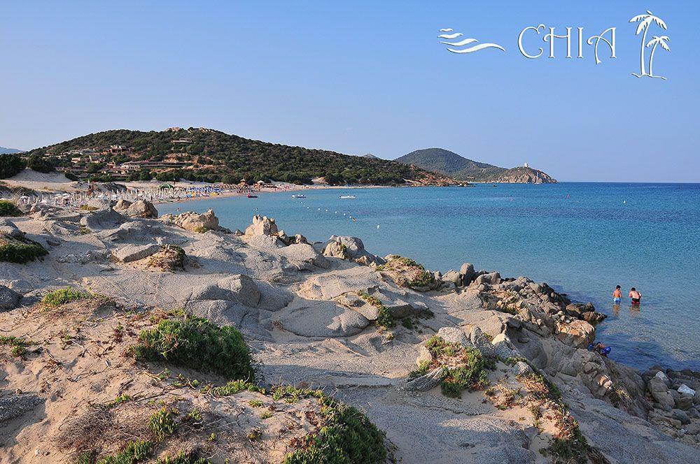 Chia, plage, sud Sardaigne