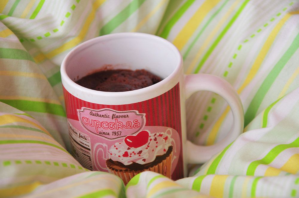 mugcake chocolat nesquik