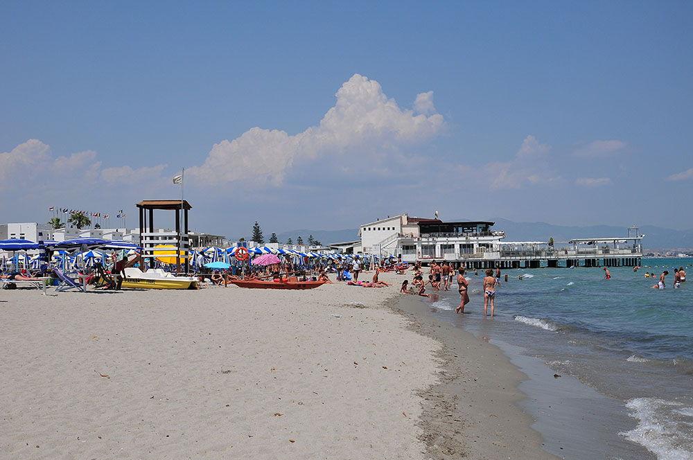 cagliari, sardaigne, spiaggia del poetto