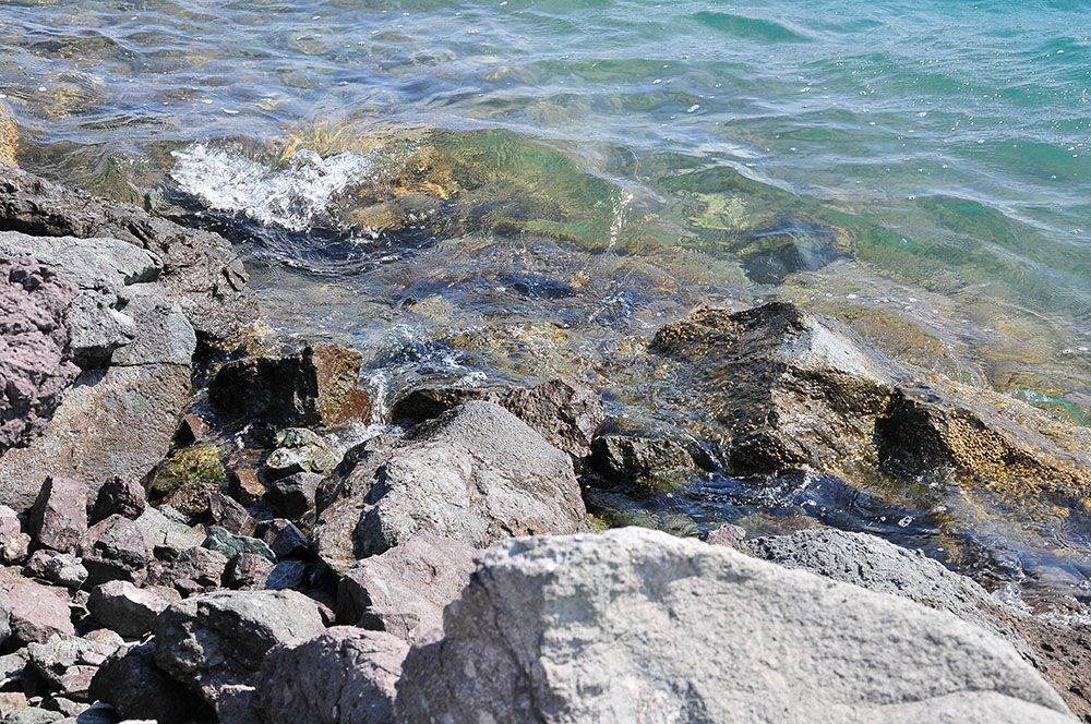 cagliari, sardaigne, mer