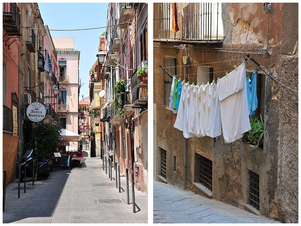 Cagliari, Sardaigne, rues