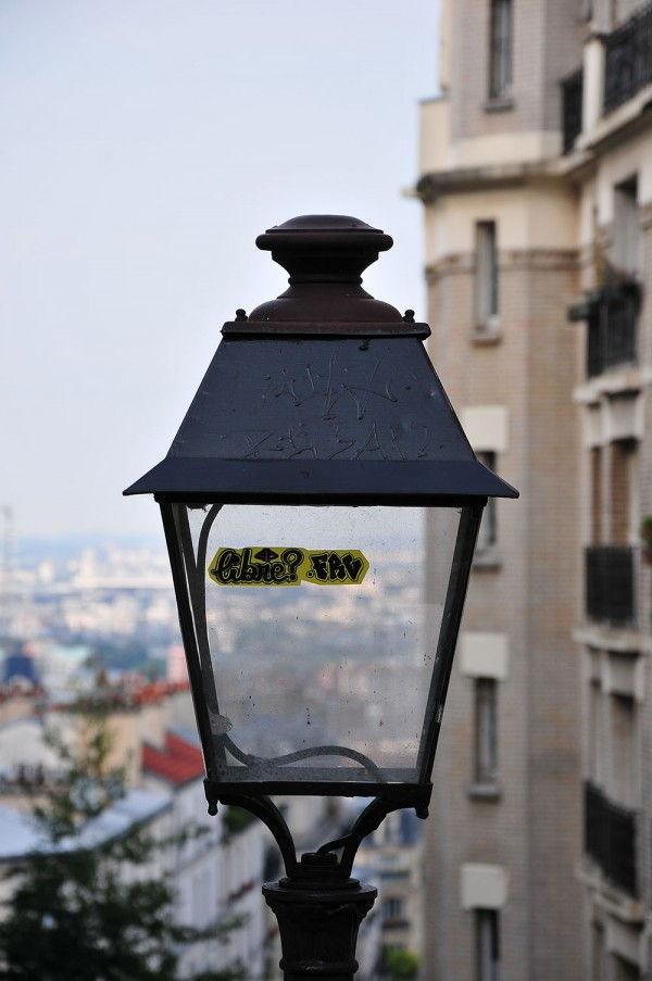 Paris vue depuis les hauteurs de Montmartre