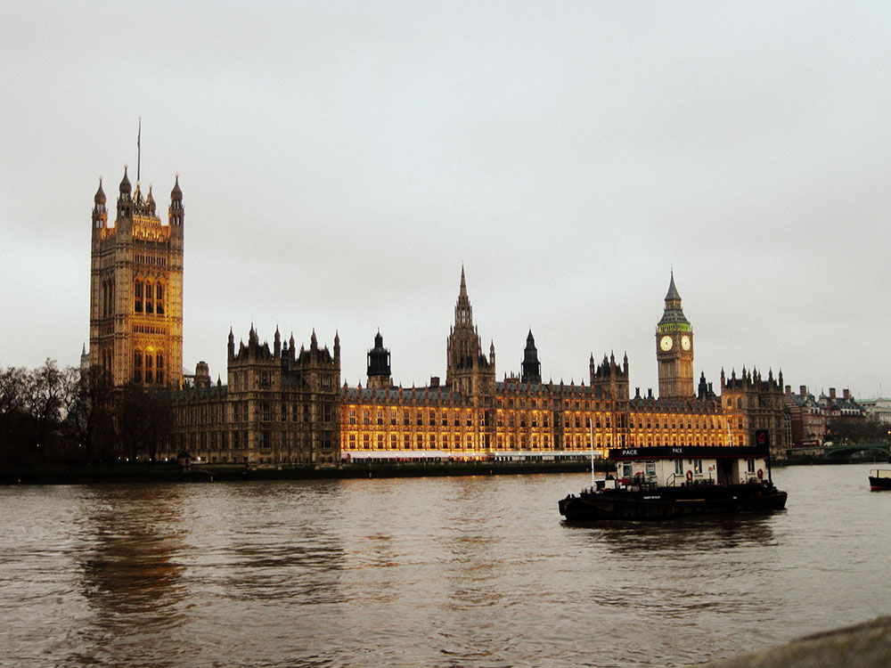 londres bord tamise
