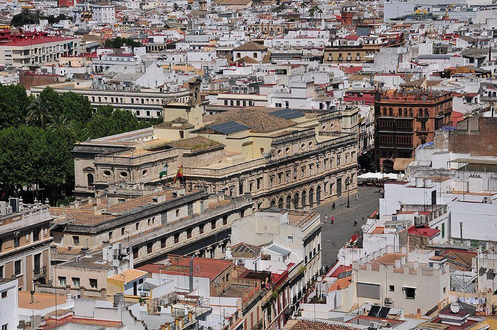 vue sur la ville de Séville, depuis la cathédrale