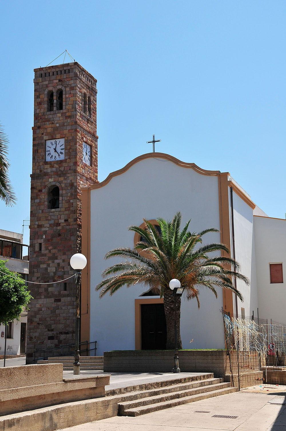 église Portoscuso Sardaigne