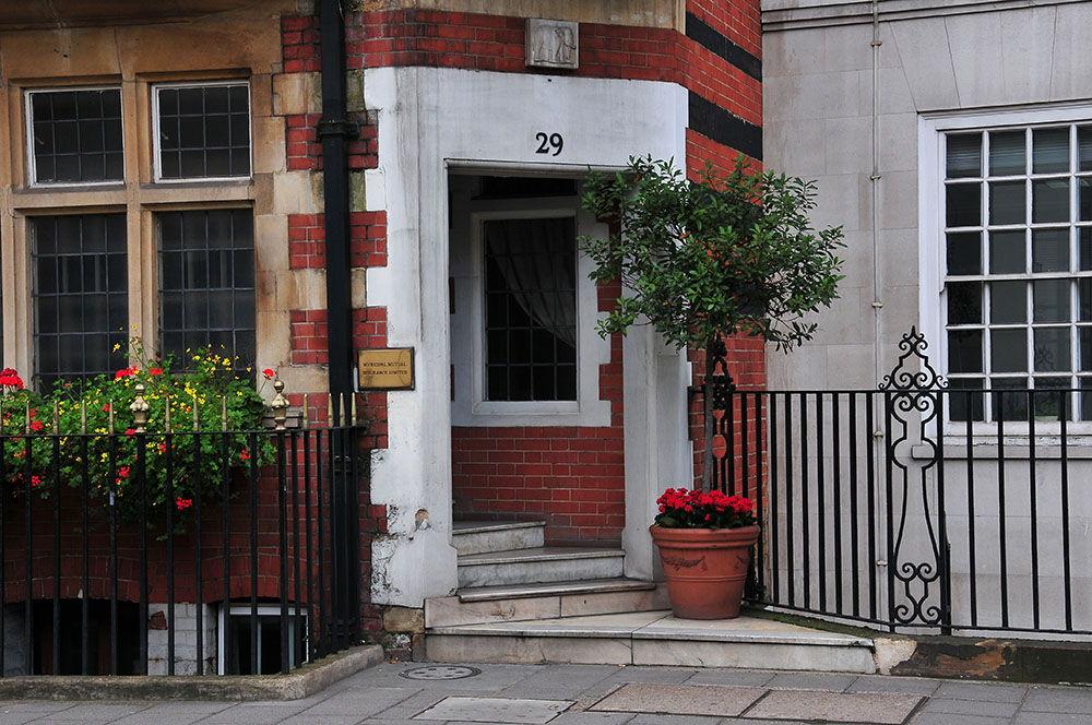 rues et maisons londoniennes, Londres