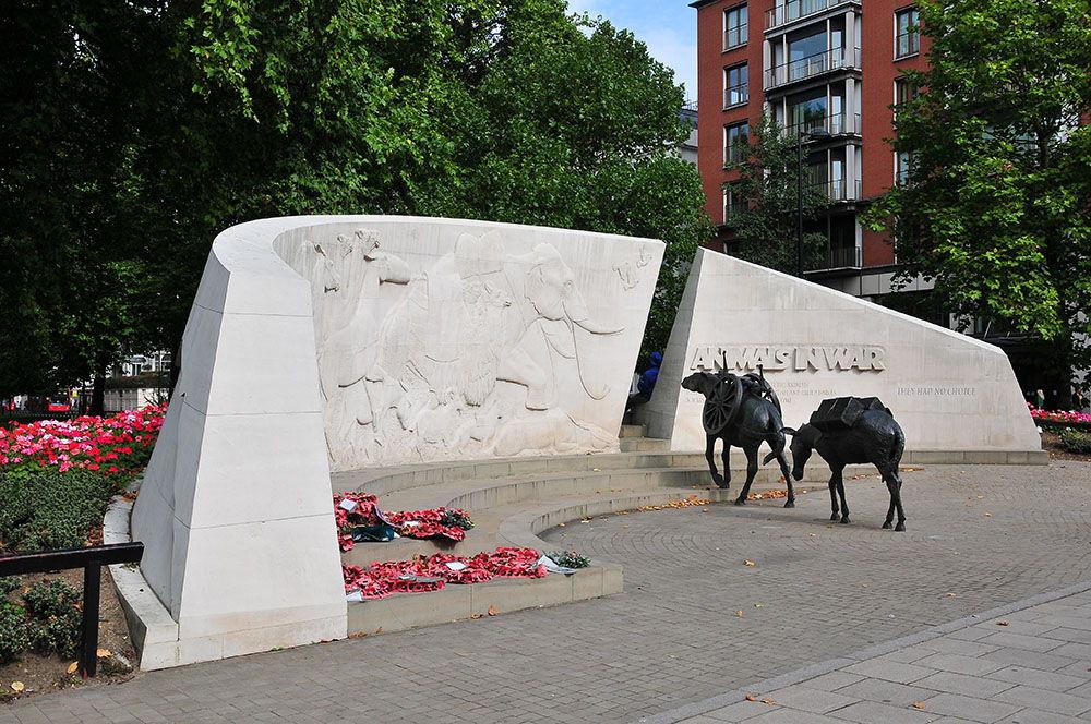 Le Mémorial des animaux de guerre