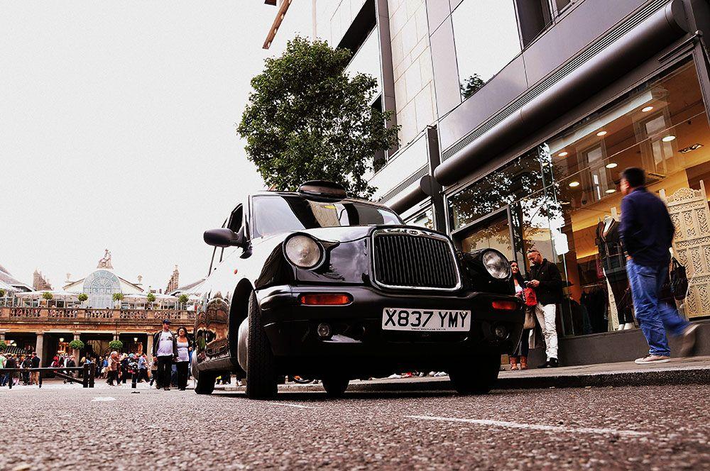 taxi londonien, Londres