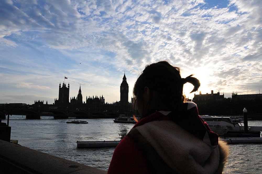 La nuit tombe sur Londres…