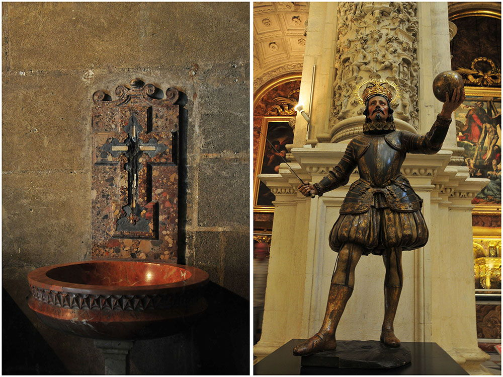 intérieur cathédrale séville