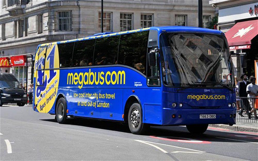 megabus vers Londres, avis