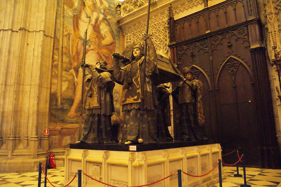 tombeau christophe colomb, séville