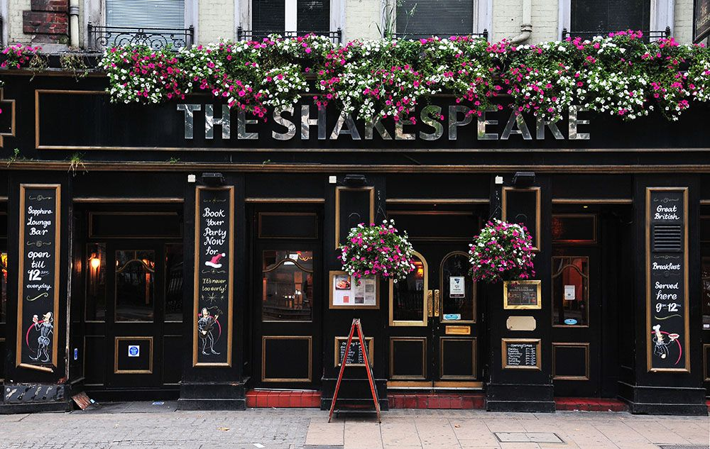 shakespeare pub