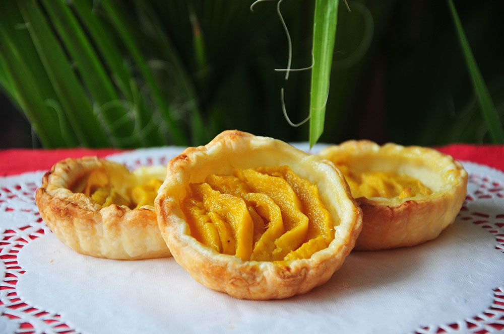 tartelettes mangue