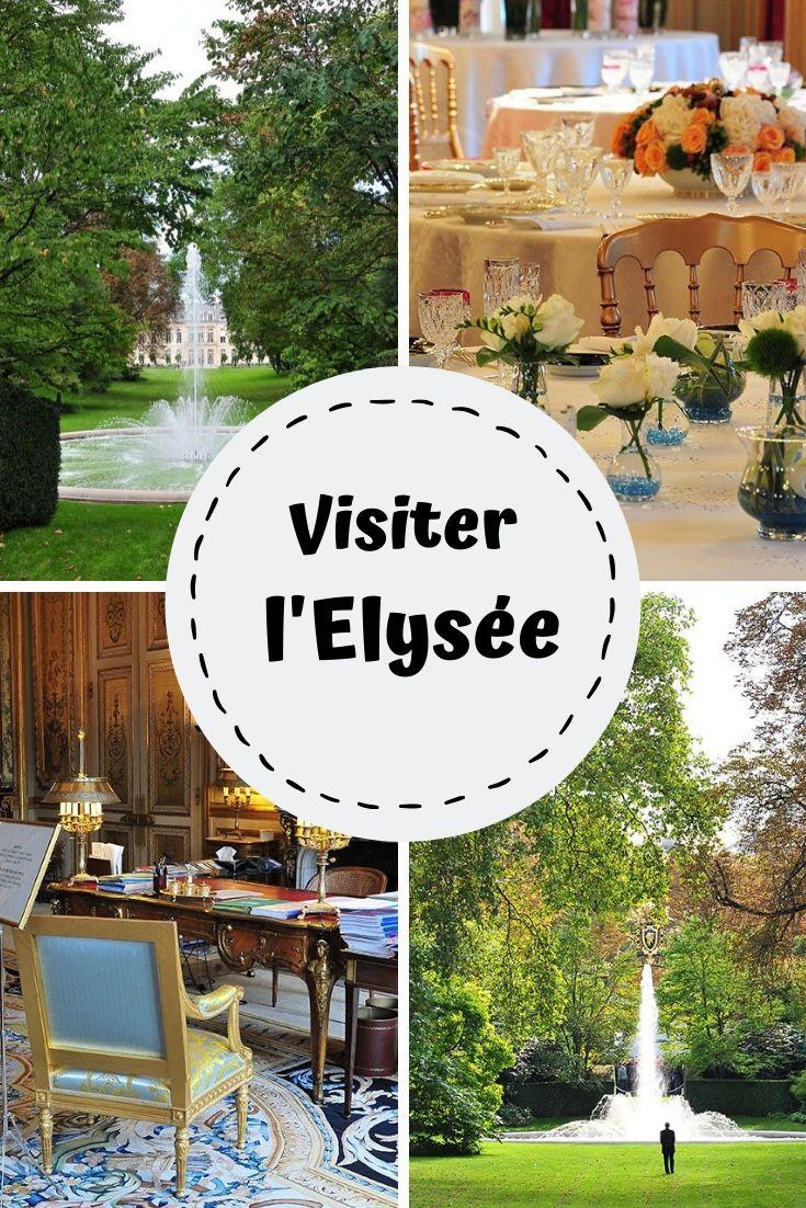 visiter le palais de l'Elysée , paris , france