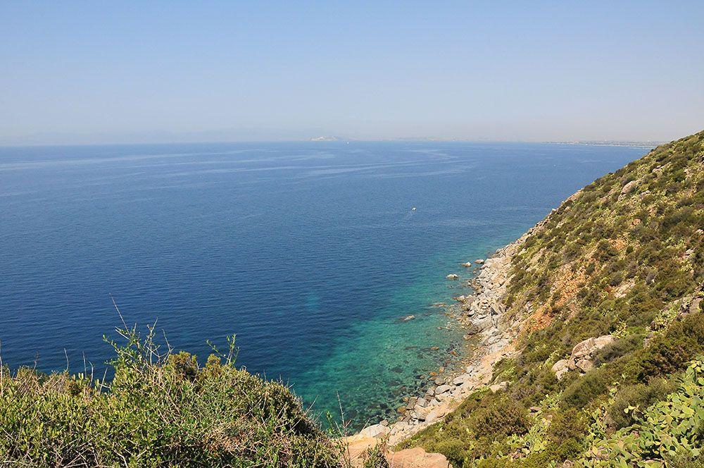 sur la route de Cagliari à Villasimius