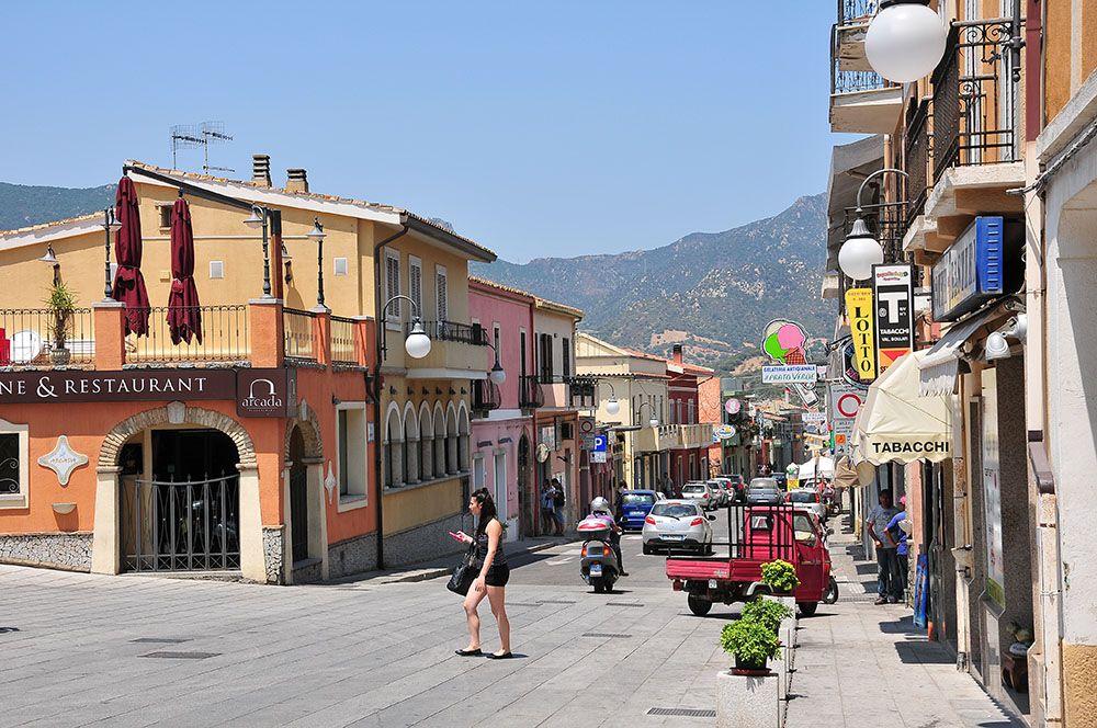 rues de Villasimius, via Umberto I, Sardaigne