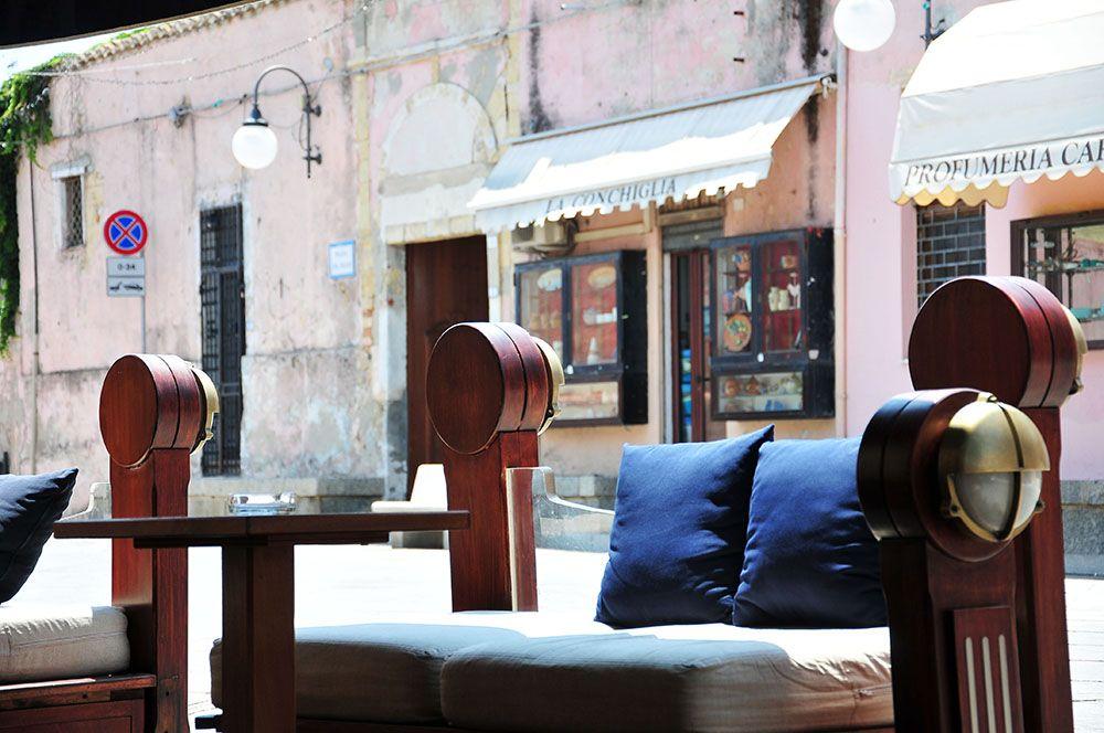 plaza caf, Villasimius, Sardaigne