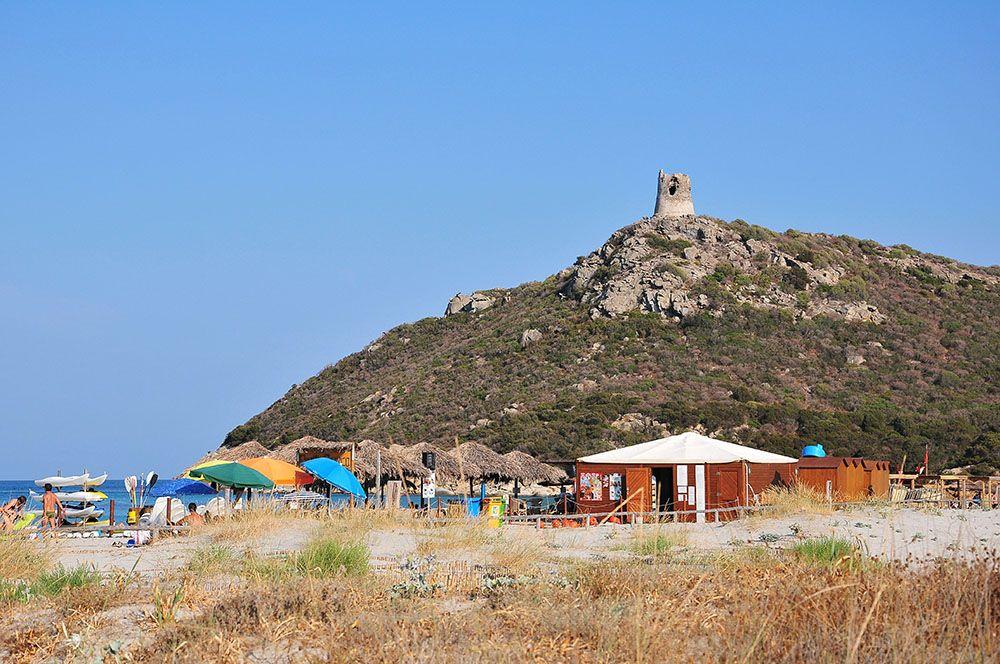 plage di porto giuncu, Villasimius Sardaigne