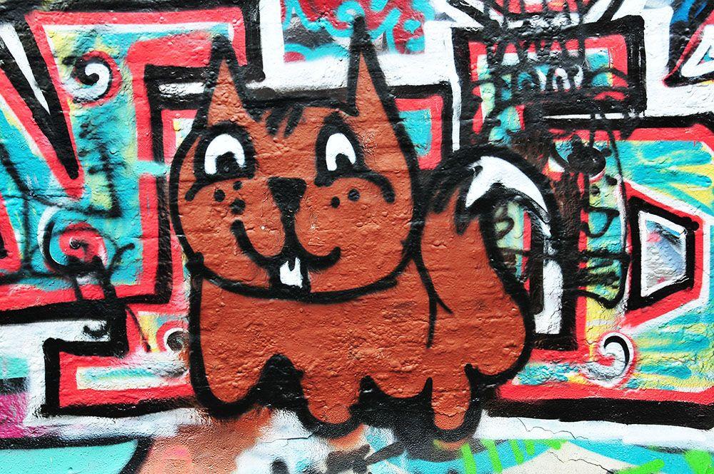 Werrengarenstraatje, street art, Gand