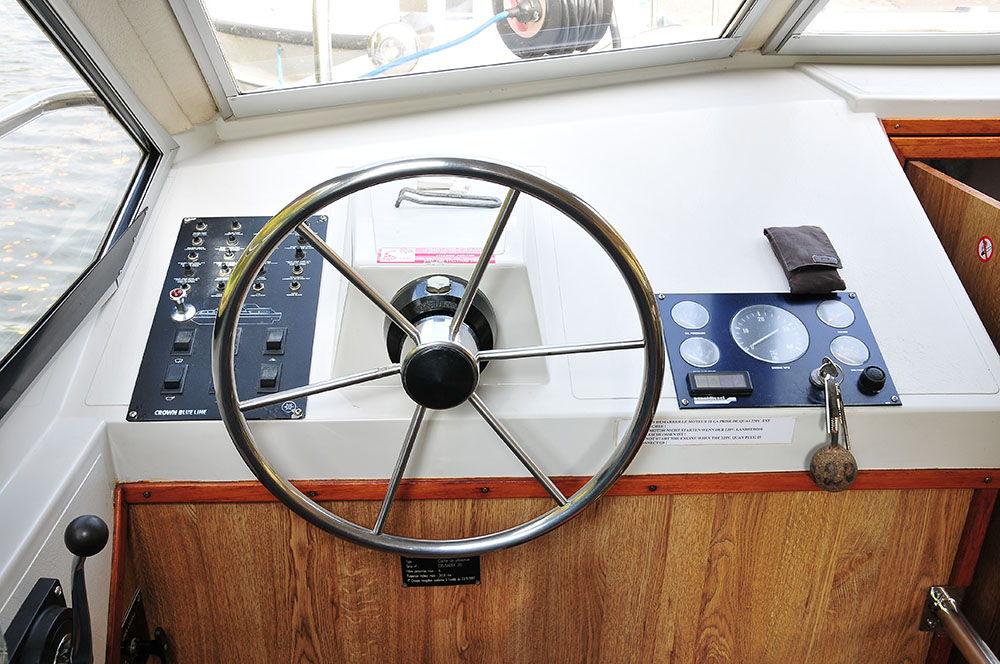 conduire bateau croisière fluviale