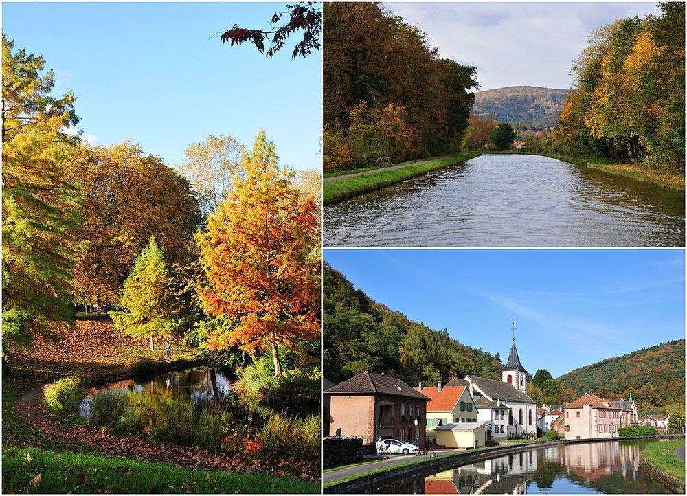 croisière fluviale alsace, automne
