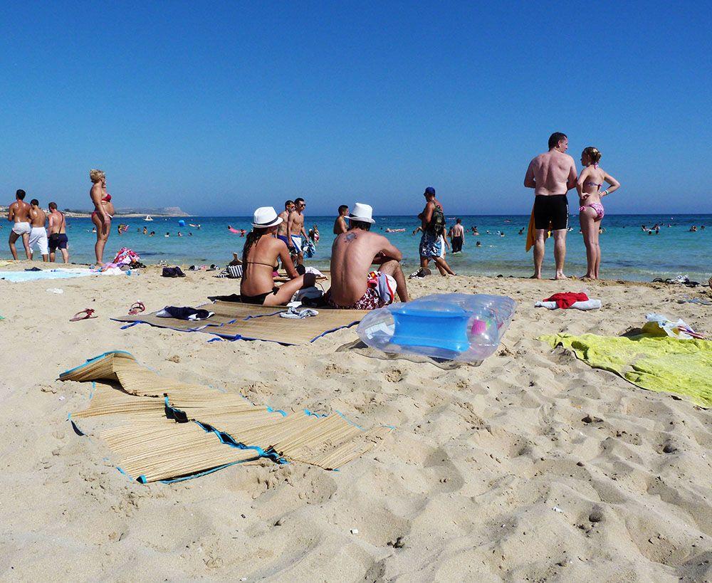 plage agia napa, Chypre