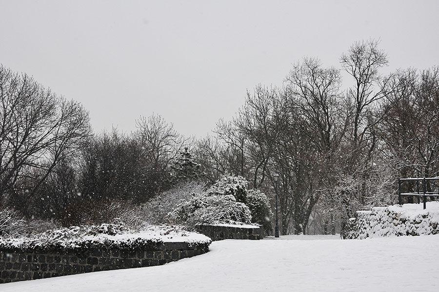 budapest sous la neige
