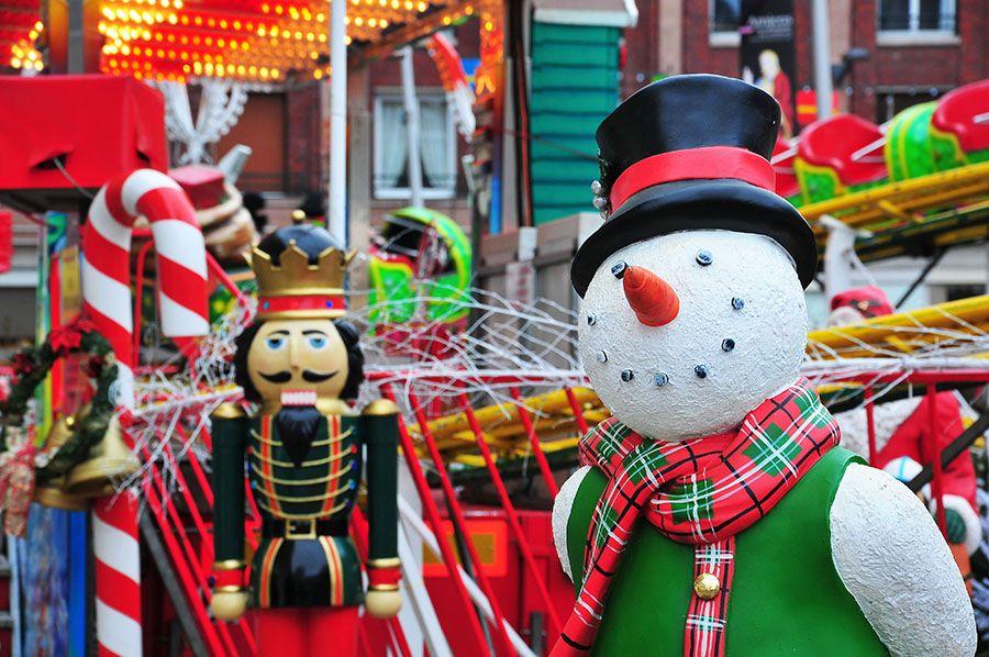 Marché de Noël d'Amiens, chalets