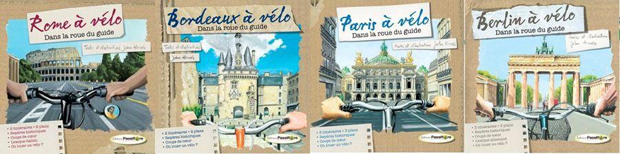 guides, vélo, éditions passiflore
