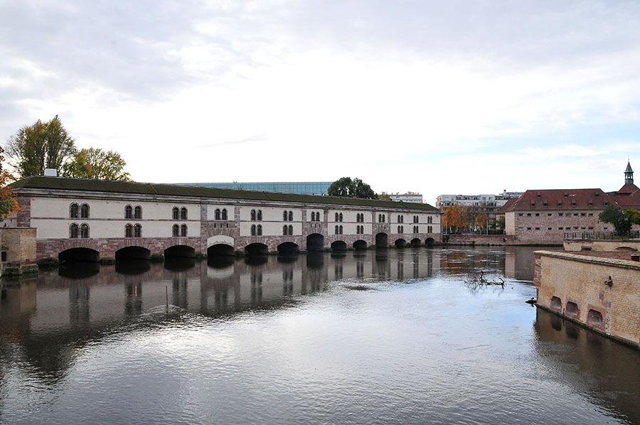 barrage vauban, petite france, strasbourg