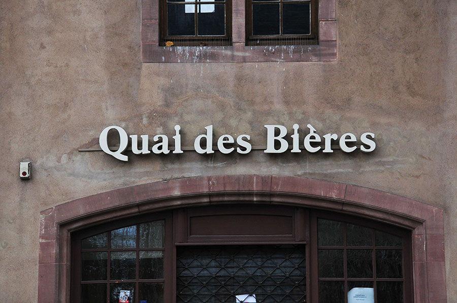 quai des bières, Strasbourg