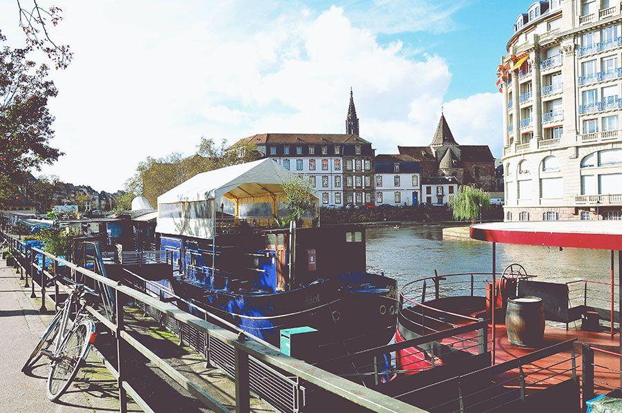 canaux, Strasbourg