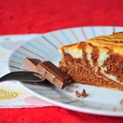marbré italien, zebra cake