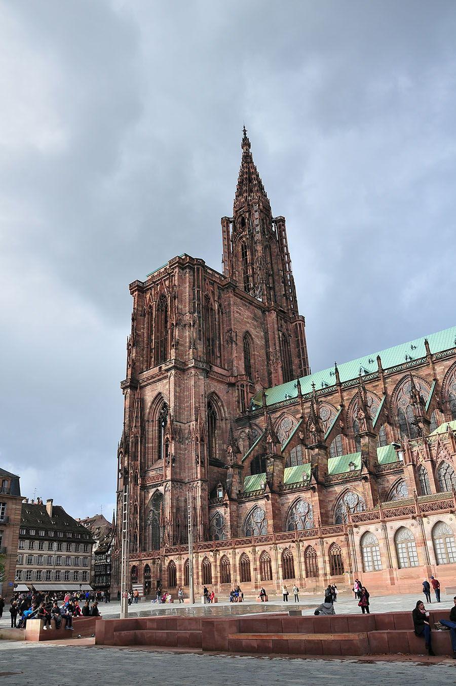 cathédrale notre-dame, strasbourg