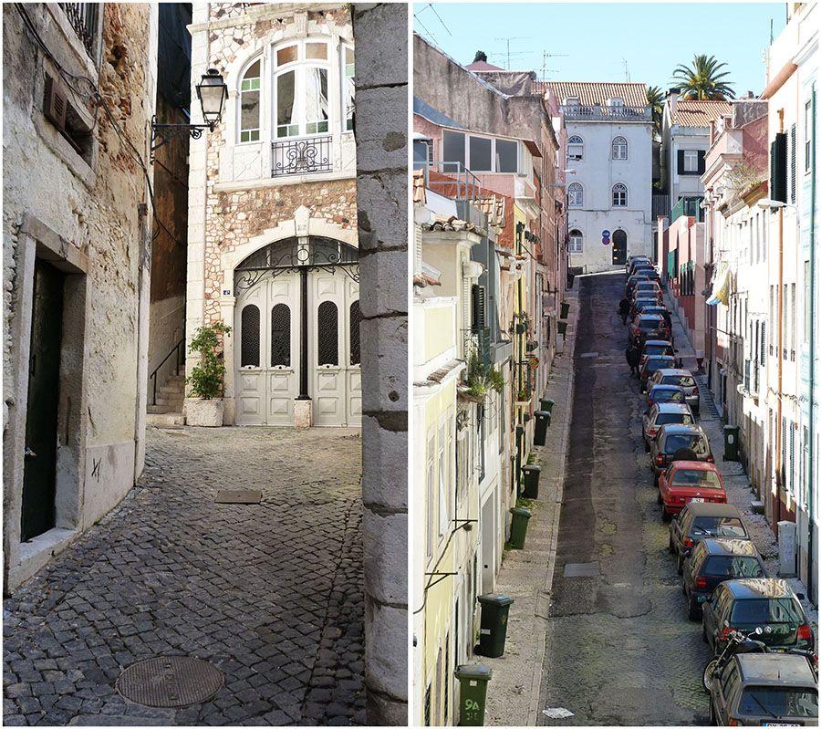 Lisbonne, rues