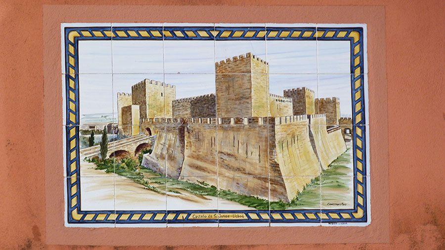 château saint-george, lisbonne