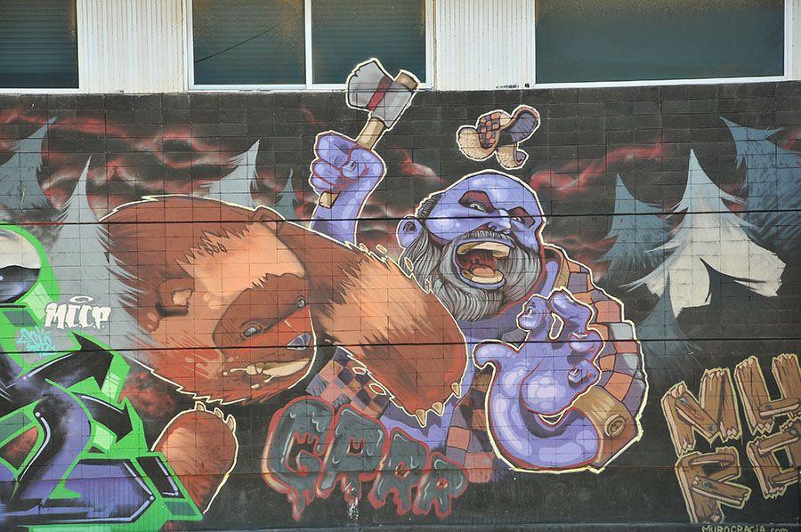 street art santa cruz de Tenerife