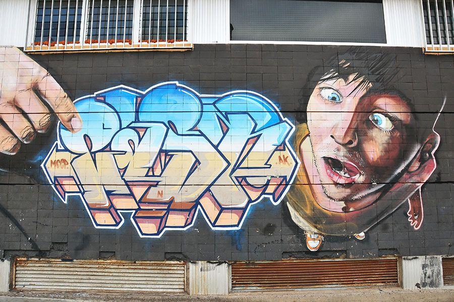 Street art aux Canaries