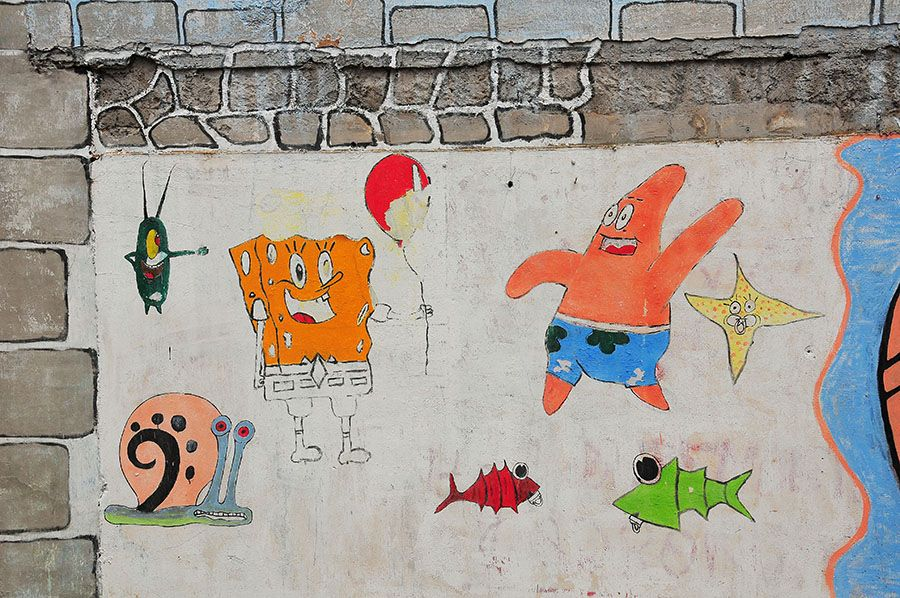 street art la laguna, tenerife, canaries