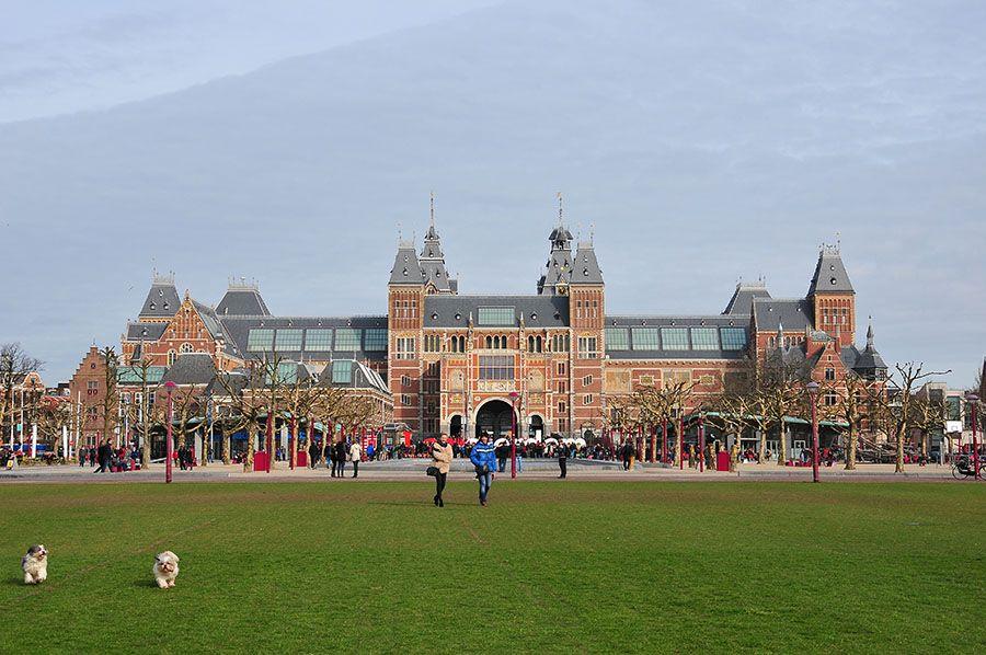 rijkmuseum, museum plein, amsterdam