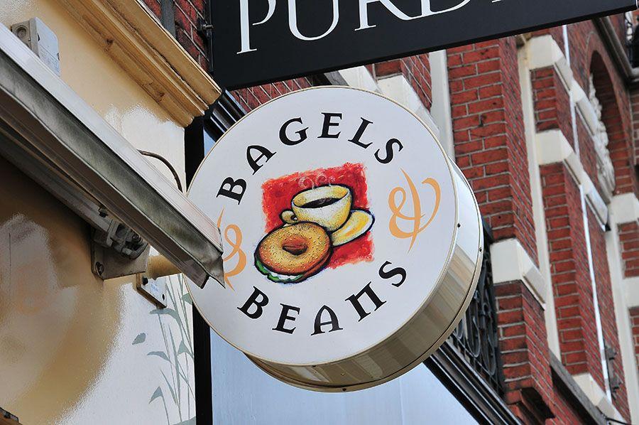 Manger à Amsterdam… Bagel Beans