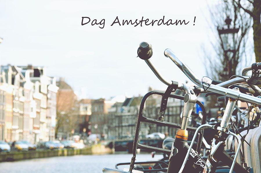 Dag Amsterdam! Jour 1