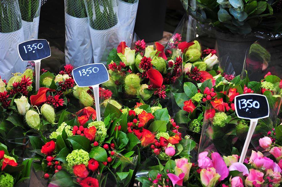 marché aux fleurs, amsterdam