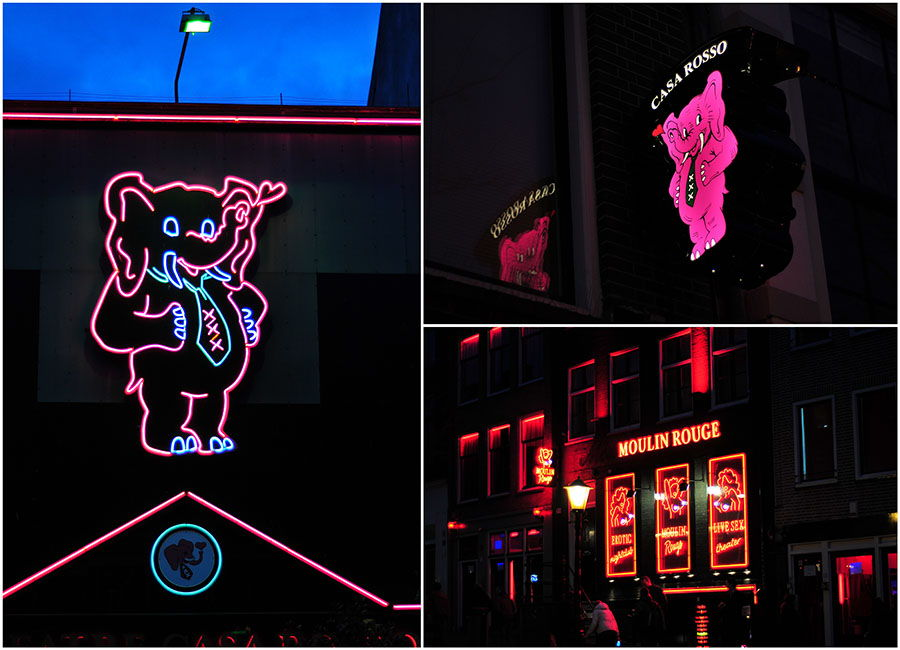 Red Light District, quartier rouge, amsterdam