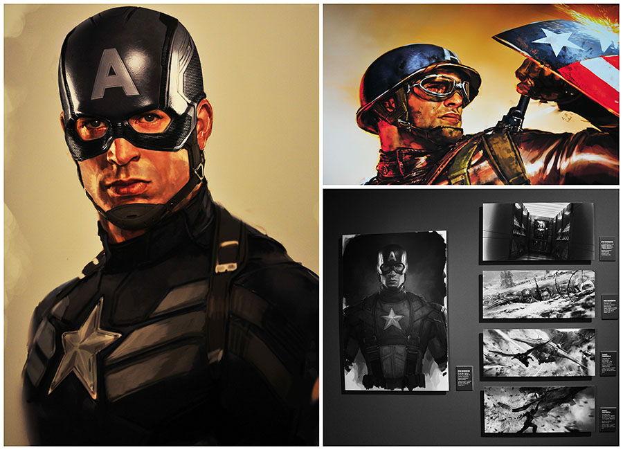 Captain America, expo marvel