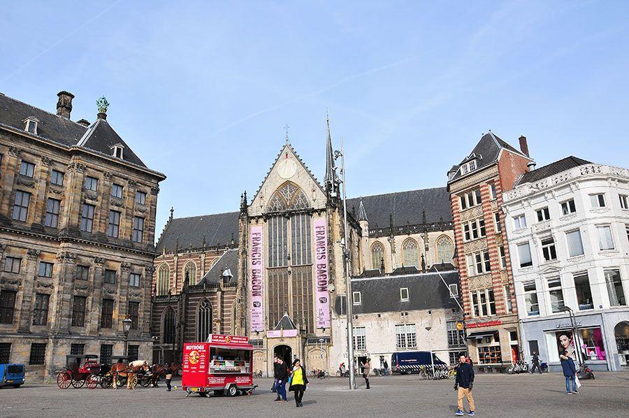 place du dam amsterdam