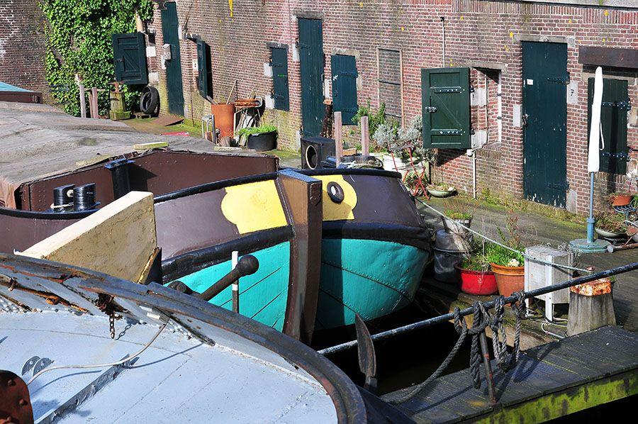 maisons flottantes amsterdam